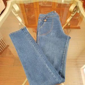 BDG High-Rise Skinny Blue Jean